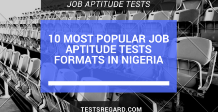 10 Most Popular Job Aptitude Tests Formats In Nigeria