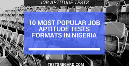 10 Most Popular Job Aptitude Tests Formats In Nigeria