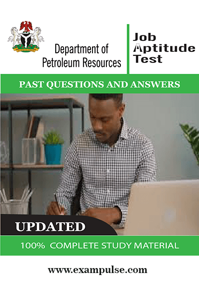 Department of Petroleum Resources – DPR past questions