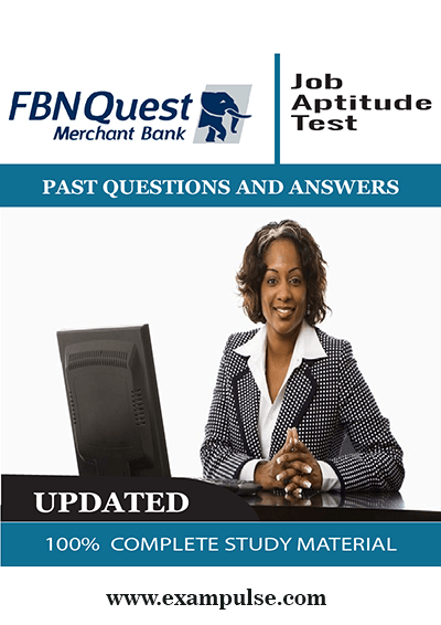 FBNQues Merchant Bank Past Questions and answers