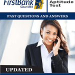 First Bank Job Past Questions PDF For Aptitude Tests