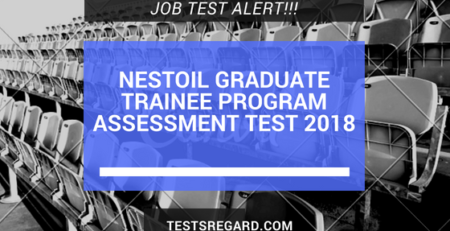 Nestoil Graduate Trainee Program Assessment Test 2018