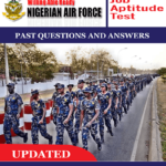 Nigerian Air Force (NAF) Past Questions And Answers PDF