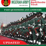 Nigerian Army Exam Past Questions and Answers PDF