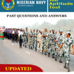 Nigerian Navy Exam Past Questions and Answers PDF