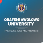 OAU Post UTME Past Questions and Answers
