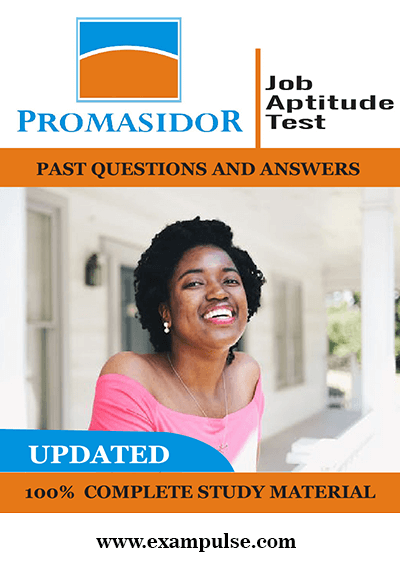 Promasidor Job Tests Past Questions With Answers PDF Exampulse