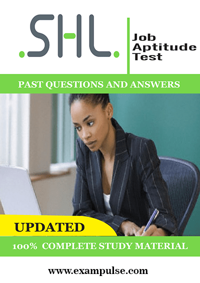 SHL Style Aptitude Tests Past Questions and Answers PDF