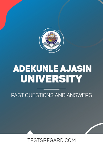 AAUA Post UTME Past Questions and Answers