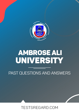 AAU Post UTME Past Questions and Answers