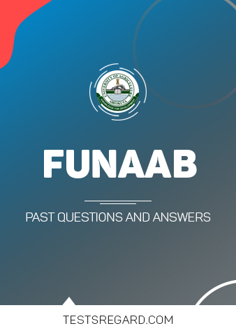 Download FUNAAB Post UTME Past Questions and Answers