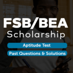 FSB BEA Scholarship Aptitude Test and Past Question Exampulse