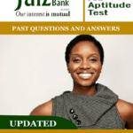 Jaiz Bank Job Aptitude Tests Past Questions and Answers PDF