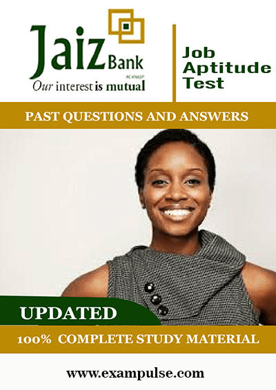 Jaiz-Bank-Job-Aptitude-Tests- Past-Questions-and-Answers-PDF