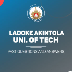 LAUTECH Post UTME Past Questions and Answers