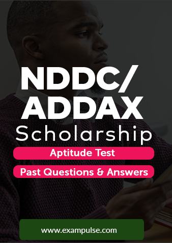 NDDC ADDAX scholarship past questions and aptitude test