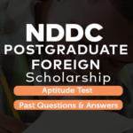 NDDC post graduate scholarship