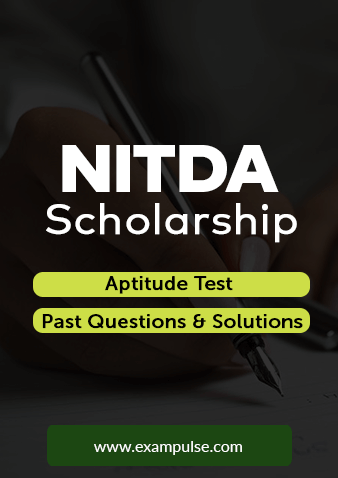 NITDA Scholarship Aptitude Test Question