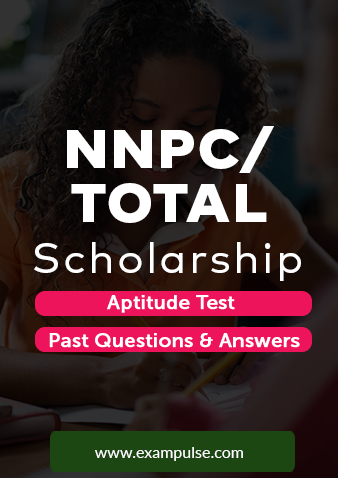 NNPC TOTAL scholarship past questions and aptitude test