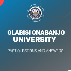 OOU Post UTME Past Questions and Answers