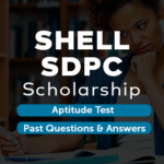 SHELL SDPC scholarship past questions and aptitude test