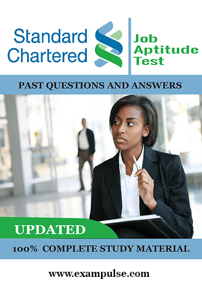 Standard Chartered Bank Job Aptitude Test Questions and Answers
