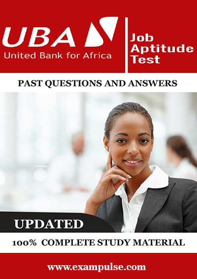UBA Graduate Job Aptitude Tests Past Questions and Answers PDF