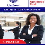 UNILEVER Aptitude Test Past Questions & Answers
