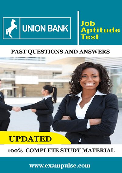 Union Bank Job Test Past Questions and Answers PDF