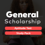 General Scholarship Aptitude Test Study Pack PDF