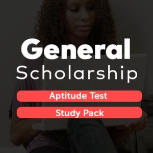 General Scholarship Aptitude Test Study Pack PDF