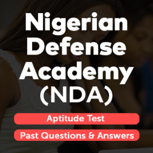 Nigerian Defense Academy NDA Exam Past Questions And Answers