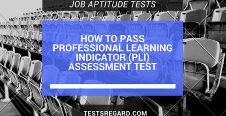pass pli assessment test