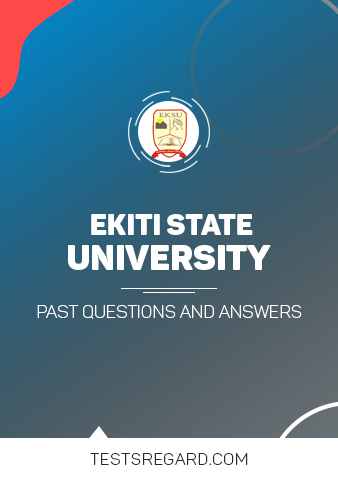 Ekiti State University Post UTME Past Questions and Answers