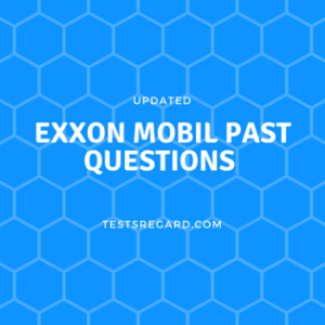 Exxon mobil scholarship past questions
