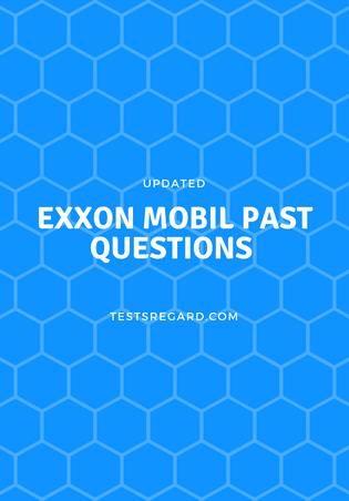 Exxon mobil scholarship past questions