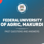 FUAM Post UTME Past Questions and Answers Download