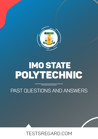 Imo State Poly Post UTME Past Questions and Answers