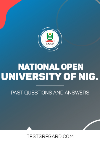 National Open University Post UTME Past Questions and Answer