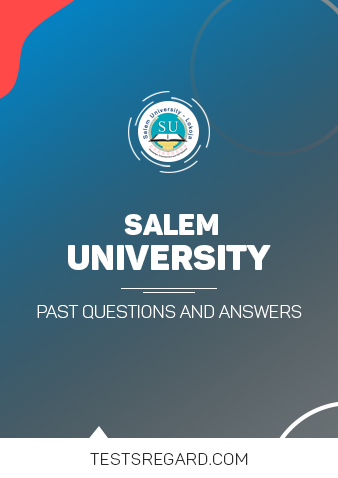 Salem University Post UTME Past Questions and Answers
