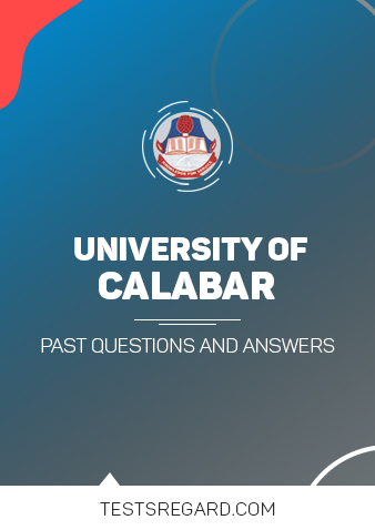University of Calabar Post UTME Past Questions and Answers