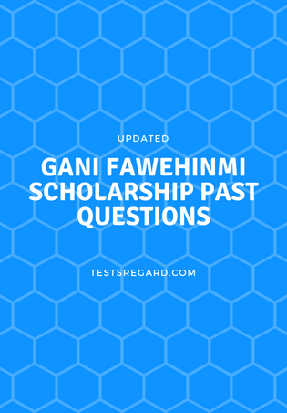 gani fawehinmi scholarship past questions