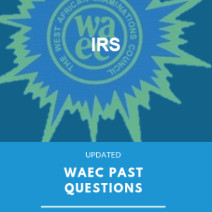 WAEC past questions IRS exampulse
