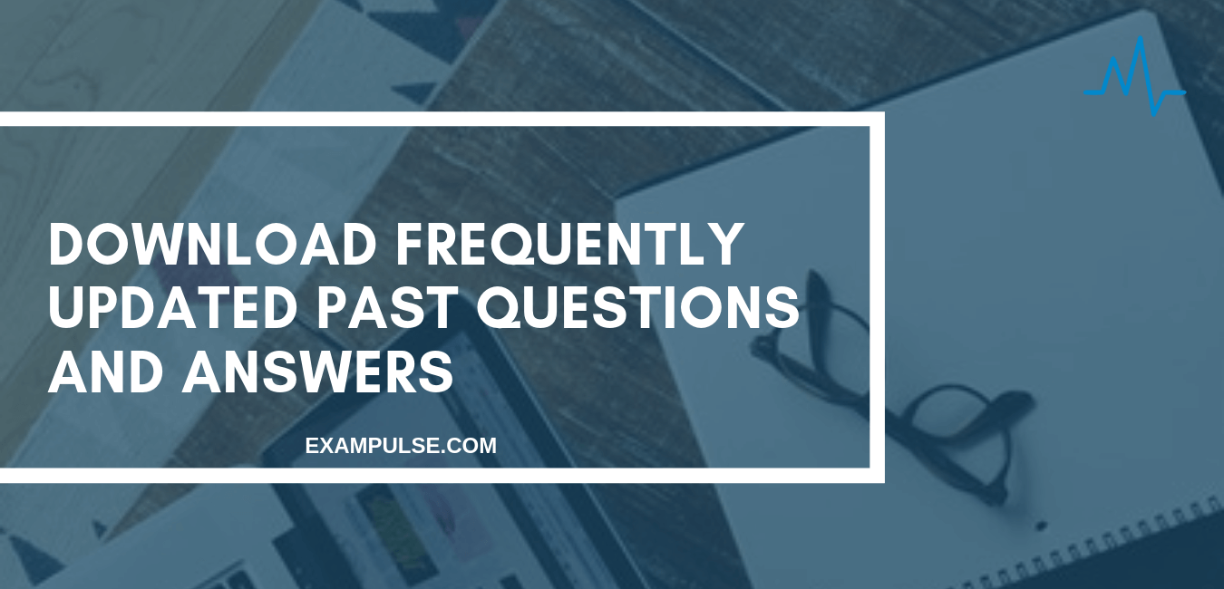 Post UTME Past Questions and Answers